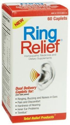 Medicine for ringing of ears