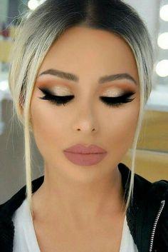 Chic Makeup Ideas For Amazing Day #weddingmakeup