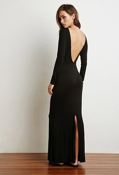 V back Maxi Dress | Perfect with an amazing statement necklace | Forever 21