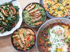 5 Easy & Healthy Meal Preps