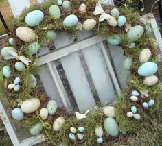 Egg Wreath All Things Spring