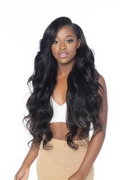 50 Best Eye-Catching Long Hairstyles for Black Women | Pinterest ...