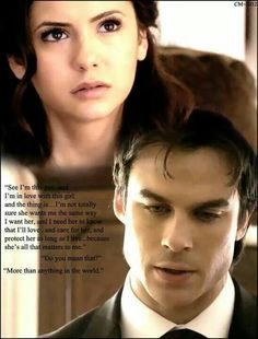 Awesome Damon quote...