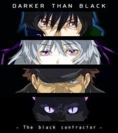 Day 6: Darker than Black. I've heard that this is really good and plus Abingdon Boy School sings the first opening and they're one of my favorites!!!