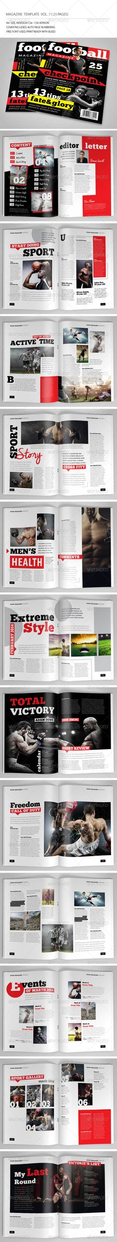 Medical Magazine - Horizontal A5 Template by luckyj Medical Magazine