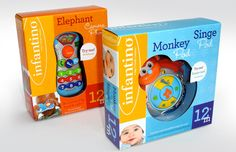 Infantino pre school toy packaging