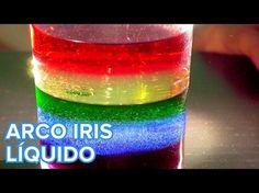 Cómo hacer un arcoíris líquido. Science Experiments Kids, Science Activities, Activities For Kids, Rainbow In A Jar, Rainbow Theme, Diy Crafts How To Make, Diy Crafts For Kids, Stem Projects, Science Projects