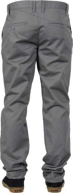 Volcom Frickin Modern Chino Pants - pewter - Men's Clothing > Pants & Jeans > Pants
