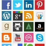 Social Media Vector Icon Sets to enlarge and print out
