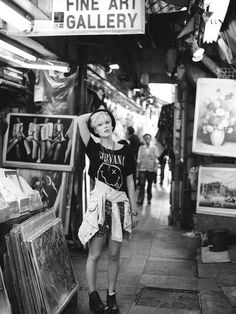 Nirvana love. #threadsence #fashion #90s