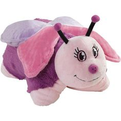 As Seen on TV Pillow Pet, Fluttery Butterfly --- New Releases 24 Hour Deals Buy Five Star Products With Up To Discount Butterfly Pillow, Pink Butterfly, Butterfly Party, Pillow Pets, Night Lite, Buy Pillows, Sewing Pillows, For Elise, Plushies