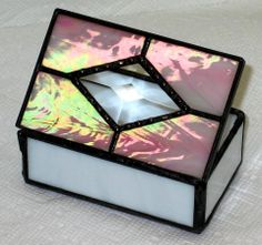 4f8e359fd6bf Look at this awesome handmade stained glass box by our Featured Artists
