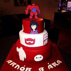 My sons birthday cake :) Big Hero 6