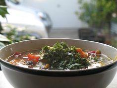 Crockpot Vegetable Minestrone Soup Recipe