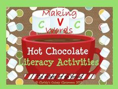 This cute hot chocolate themed pack features 4 games that you can use throughout the winter to help your students practice reading and making CVC words.  Common Core Aligned--RF.K.1b Recognize that spoken words are represented in written language by specific sequences of letters.
