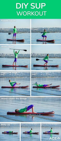 DIY SUP Fitness Work