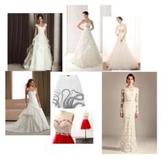 """""""Untitled #4"""" by oonasmck on Polyvore featuring Beautiful Wedding"""