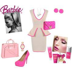 Publicist Barbie <3, created by gloria-zuniga on Polyvore