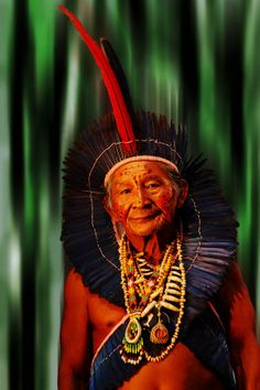 Amazonian Indian, Brazil