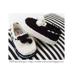 Ravelry: Loafer-Slippers for Babies and Toddlers pattern by Ingunn Santini