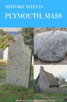 As the oldest town in Massachusetts, Plymouth has many historic sites. Click the image to see the full list of sites! Historic New England, New England States, East Coast Travel, East Coast Road Trip, Places To Travel, Places To See, Plymouth Massachusetts, Plymouth Rock, United States Travel