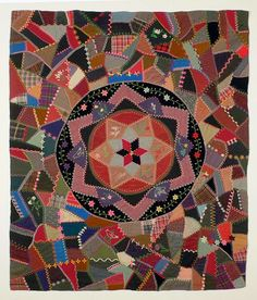Crazy Stitcher: More Antique Crazy Quilts