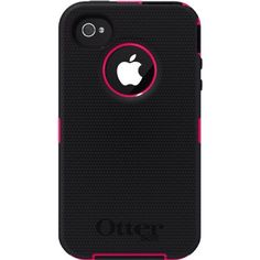 iPhone 4/4S Otter Box OEM Defender Black And Pink Item Comes With Belt Clip  Item Comes With Retail Packing Item Ships Same Day Ordered Item Is NEW IN BOX Accessories