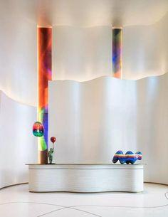 Lounge Design, Design Room, Interior Design Living Room, Hotel Lounge, Bar Lounge, Hotel Lobby Design, Reception Desk Design, Lobby Reception, Commercial Interior Design