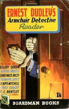 ebay 1950 Boardman UK paperback cover art by Dennis McLoughlin Seattle Mystery Bookshop