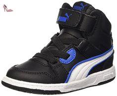 Rebound Street V2 L, Sneakers Basses Mixte Adulte, Blanc White White, 37 EUPuma