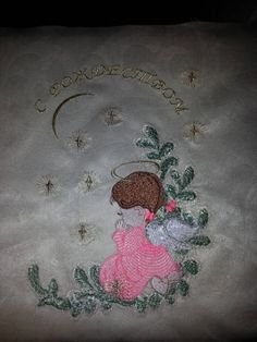 Little cute Angel free machine embroidery design