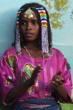 Africa | Tigre woman - Festival Eritrea 2006 - Asmara Eritrea. | © Hans van der Splinter