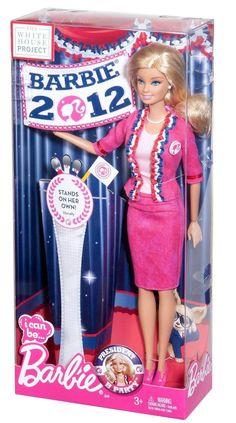 Barbie I Can Be U.S.A. President Barbie Doll 2012 NEW #Mattel