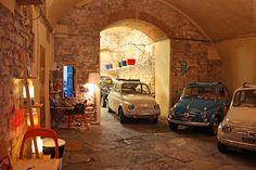 Fiat Garage - so cute.
