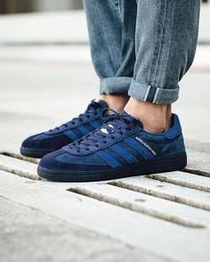 Oi Polloi x Adidas Originals Manchester Marine 'Dark Blue'