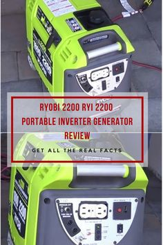 The Ryobi 2200 portable inverter generator is an ideal candidate to fulfill your power needs, either for emergency or for recreation.Read on! Portable Inverter Generator, Generation Game, Real Facts, Generators, Posts, Digital, Blog, Messages, Blogging