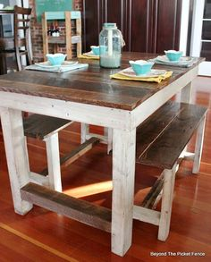 Pallet Farmhouse Table                                                                                                                                                                                 More
