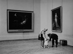 The Louvre, Paris, 1980 by Clive Limpkin