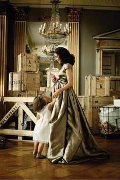 The Crown Princess Mary of Denmark and her daughter, Princess Isabella. She has twins on the way. Such a gorgeous photo. Maybe one day mommy will take one like this with her own Princess Isabella.