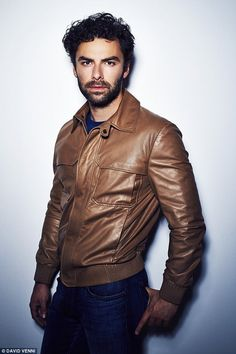 West End debut: Aidan will be escaping the Cornish coast next year to make his West End debuthe Lieutenant Of Inishmore