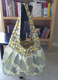 Flower Sling Bag by stitch248 on Etsy, $65.00