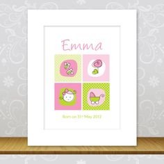 These 10″ x 8″ personalised wall prints will make a perfect christening gift and keepsake. Each print can be personalised to make a truly unique picture. #personalised #bunting #giftguide #instagift #mumsinbusiness #blanket #taggies #unique #gift #babygifts #aprons #towels #instacool #fabric #nurserydecor #nursery #handmade #kidsgifts #giftideas #present #babyshower #christening #birthday #presents