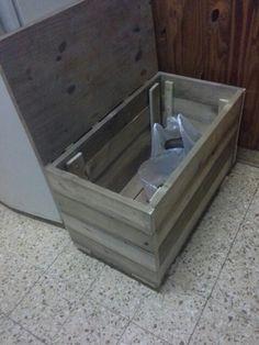 Baul despensa de madera reciclada