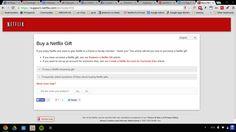 Netflix Gift Subscription