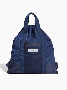 eb9531a117c ADIDAS BY STELLA MCCARTNEY Gym Sack Mystery blue Bold blue Night indigo  BAGS Sack