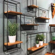 Welded Furniture, Iron Furniture, Reclaimed Wood Furniture, Steel Furniture, Furniture Design, Salvaged Wood, Unique Wood Furniture, Reclaimed Wood Shelves, Furniture Vintage