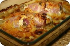 Kipfilet met Champignon-Kaassaus uit de Oven