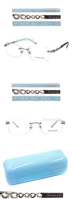 3b8ec9d81809 Eyeglass Frames  Tiffany And Co. Tf1117-B 6021 Rimless Gold Tortoise 55 16