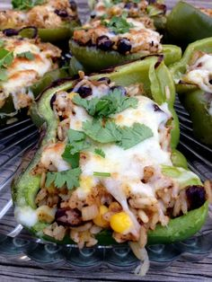 Southwest Style Stuffed Peppers from The Haas Machine on MyRecipeMagic.com