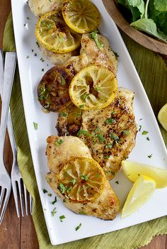 Lemon Butter Skillet Chicken